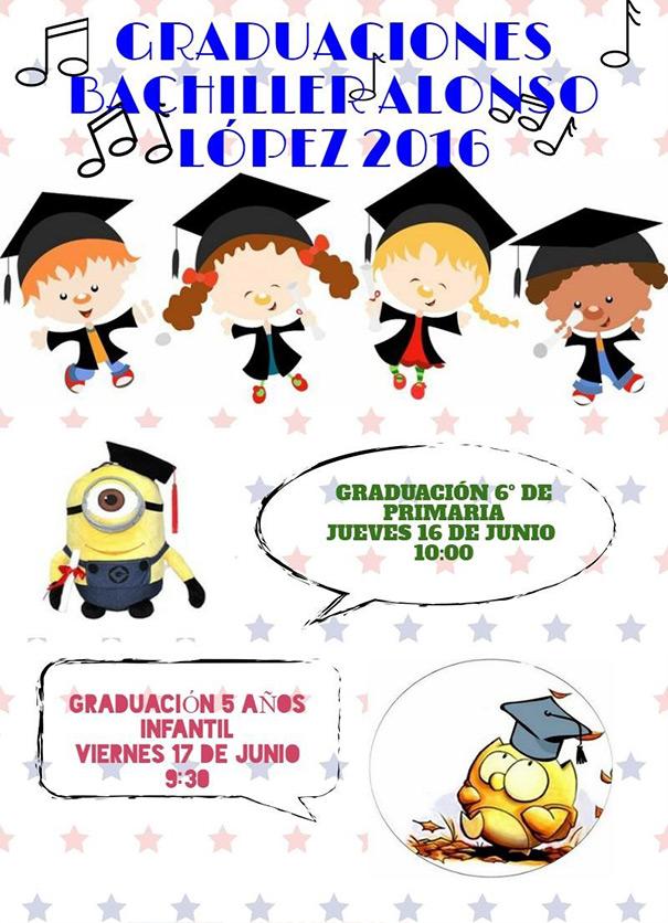 Graduaciones Bachiller Alonso López 2016